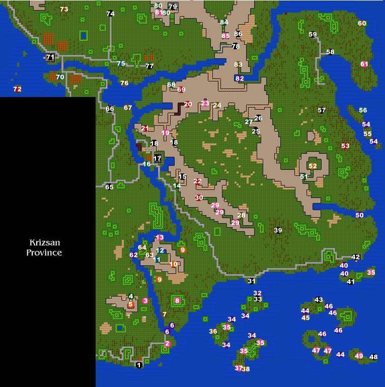 Karnold Province Map